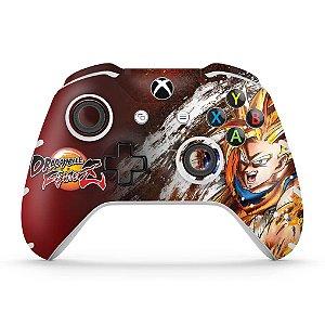 Skin Xbox One Slim X Controle - Dragon Ball FighterZ