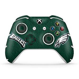 Skin Xbox One Slim X Controle - Philadelphia Eagles NFL