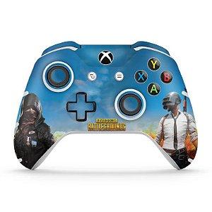 Skin Xbox One Slim X Controle - Players Unknown Battlegrounds PUBG