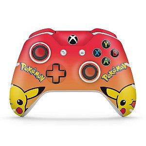 Skin Xbox One Slim X Controle - Pokemon Pikachu