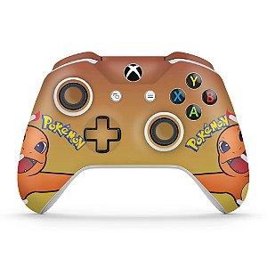 Skin Xbox One Slim X Controle - Pokemon Charmander