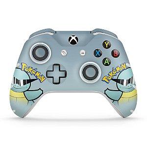Skin Xbox One Slim X Controle - Pokemon Squirtle