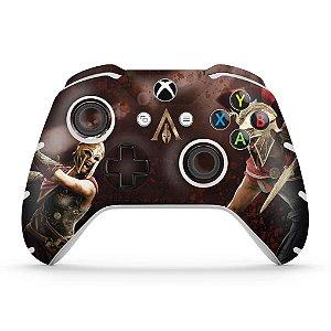 Skin Xbox One Slim X Controle - Assassins Creed Odyssey
