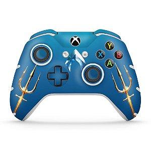 Skin Xbox One Slim X Controle - Aquaman