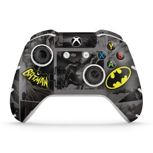 Skin Xbox One Slim X Controle - Batman Comics