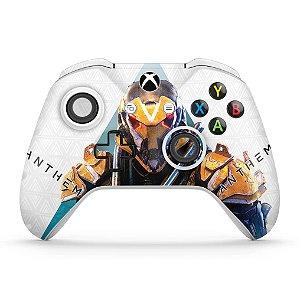 Skin Xbox One Slim X Controle - Anthem