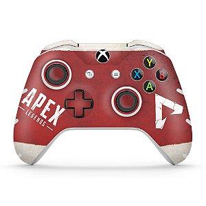 Skin Xbox One Slim X Controle - Apex Legends