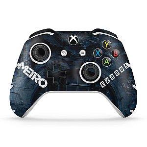 Skin Xbox One Slim X Controle - Metro Exodus