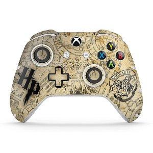 Skin Xbox One Slim X Controle - Harry Potter