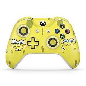 Skin Xbox One Slim X Controle - Bob Esponja