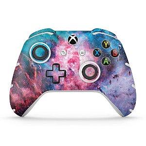 Skin Xbox One Slim X Controle - Universo Cosmos