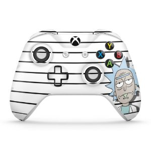 Skin Xbox One Slim X Controle - Rick Rick and Morty