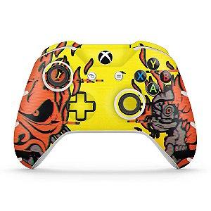 Skin Xbox One Slim X Controle - Cyberpunk 2077