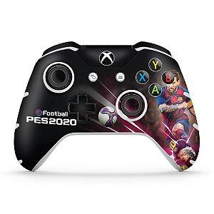 Skin Xbox One Slim X Controle - PES 2020