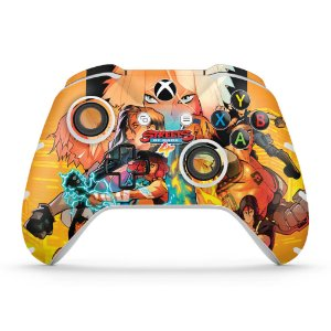 Skin Xbox One Slim X Controle - Streets of Rage 4