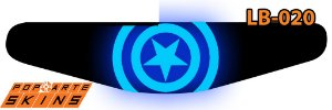 PS4 Light Bar - Capitao America