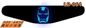 PS4 Light Bar - Iron Man - Homem De Ferro