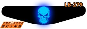 PS4 Light Bar - Caveira Skull