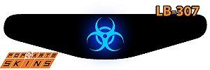 PS4 Light Bar - Biohazard Radioativo