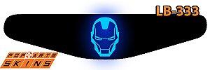 PS4 Light Bar - Homem De Ferro Comics