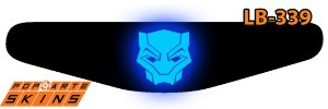 PS4 Light Bar - Pantera Negra Comics