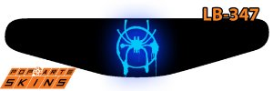 PS4 Light Bar - Homem-Aranha No Aranhaverso