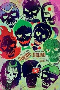 Poster Esquadrão Suicida #D