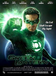 Poster Lanterna Verde #A