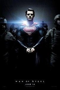 Poster Superman Homem de Aço #A
