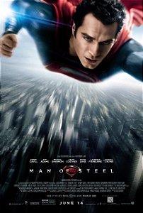Poster Superman Homem de Aço #C