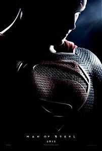 Poster Superman Homem de Aço #D