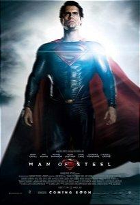 Poster Superman Homem de Aço #E
