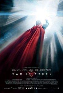 Poster Superman Homem de Aço #G