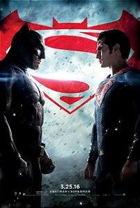 Poster Batman vs Superman: A Origem da Justiça #B