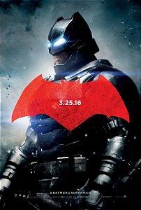 Poster Batman vs Superman: A Origem da Justiça #C