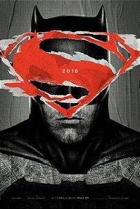 Poster Batman vs Superman: A Origem da Justiça #H