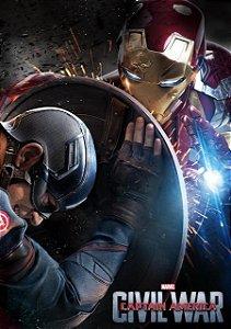 Poster Capitão América: Guerra Civil #C
