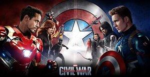 Poster Capitão América: Guerra Civil #F