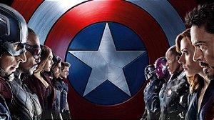 Poster Capitão América: Guerra Civil #G