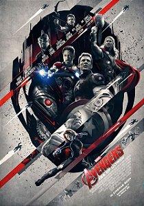 Poster Os Vingadores 2: A Era de Ultron #A
