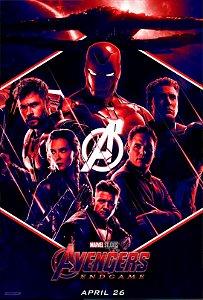 Poster Os Vingadores Ultimato Endgame #C