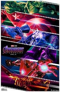 Poster Os Vingadores Ultimato Endgame #D