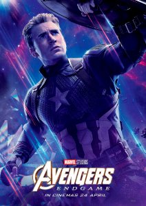Poster Os Vingadores Ultimato Endgame #I