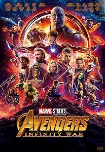 Poster Os Vingadores: Guerra Infinita #A