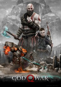 Poster God Of War 4 #A