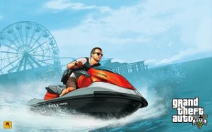 Poster Grand Theft Auto V - Gta 5 #A