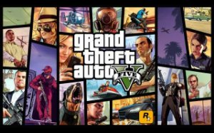 Poster Grand Theft Auto V - Gta 5 #B