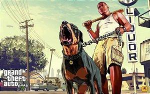 Poster Grand Theft Auto V - Gta 5 #D