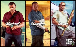 Poster Grand Theft Auto V - Gta 5 #E