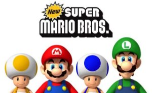 Poster New Super Mario Bros #E